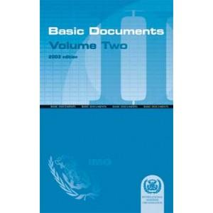Basic Documents: Volume II, 2003 Edition