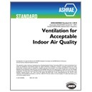 Standard 62.1-2010 -- Ventilation for Acceptable Indoor Air Quality (ANSI Approved)