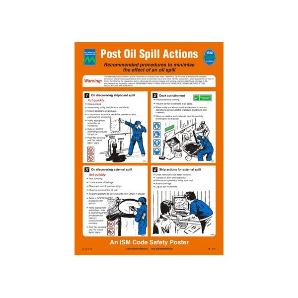 Poster Post Oil Spill Actions Putra Standards