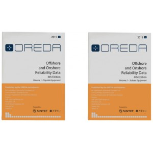 OREDA (Offshore Reliability Data) Handbook 2015, 6th edition, Volume I and II
