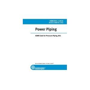 ASME B31.1-2016  Power Piping